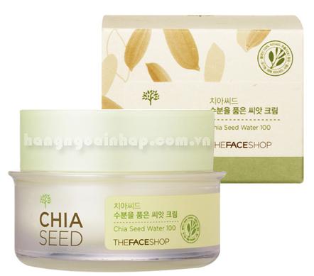 Kem Dưỡng Da Chia Seed Water 100 The Face Shop