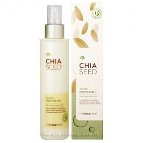 Nước Hoa Hồng The Face Shop Chia Seed Water 100 145ml Của Hàn Quốc