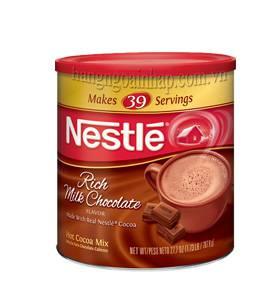 Bột Socola Sữa Nestle Hot Cocoa Mix, Rich Milk Chocolate