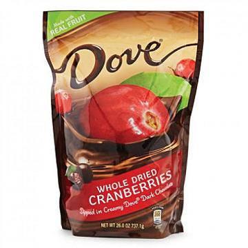 Chocolate Bọc Quả Nam Việt Quất Chua Ngọt Dove 737gram