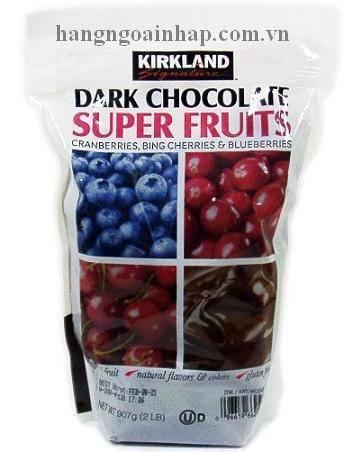 Chocolate Đen Nhân Trái Cây Kirkland Của Mỹ
