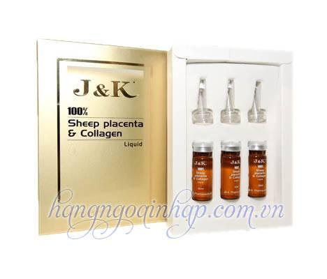 J K Sheep Placenta Collagen- Kem Dưỡng Da Cao Cấp Của Úc