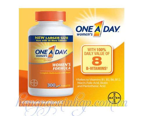 One A Day Women's Formula Vitamins 250 Viên Của Mỹ
