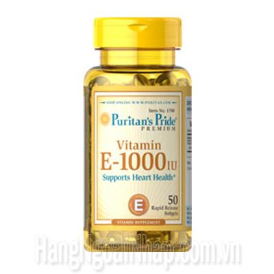 Viên Nang Vitamin E 400 IU Puritan Pride Hộp 50 Viên Của Mỹ