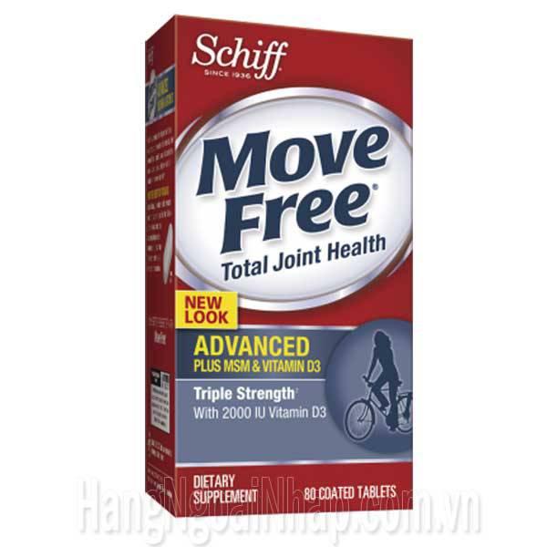 Schiff Move Free Advanced Plus MSM Vitamin D - Đặc Trị Xương Khớp