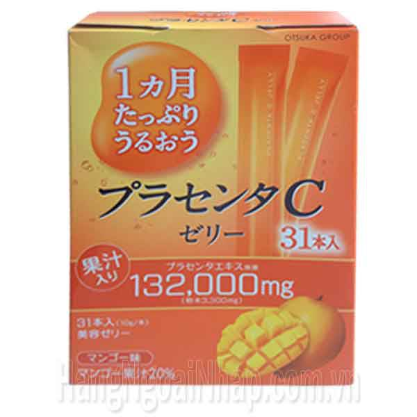 Thạch Collagen Otsuka Skin C Japan Placenta Jelly 132000mg