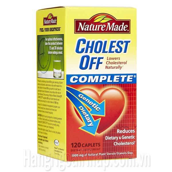 Nature Made Cholest Off - Viên Giảm Cholesterol Trong Máu