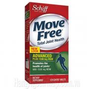 Schiff Move Free Advanced Plus 1500mg MSM 120 Viên - Mẫu Mới
