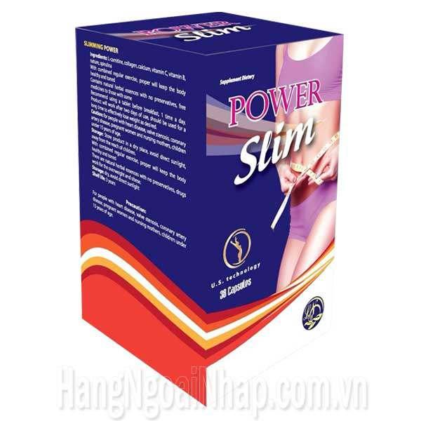 Thực Phẩm Giảm Cân Power Slim - Hộp 38 Viên Của Mỹ