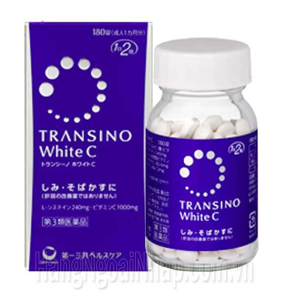 Thuốc Trị Nám Da Transino White C 180 Viên Của Nhật Bản