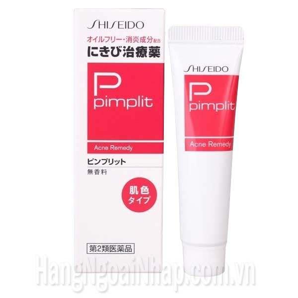 Kem trị mụn Shiseido P pimplit 18g