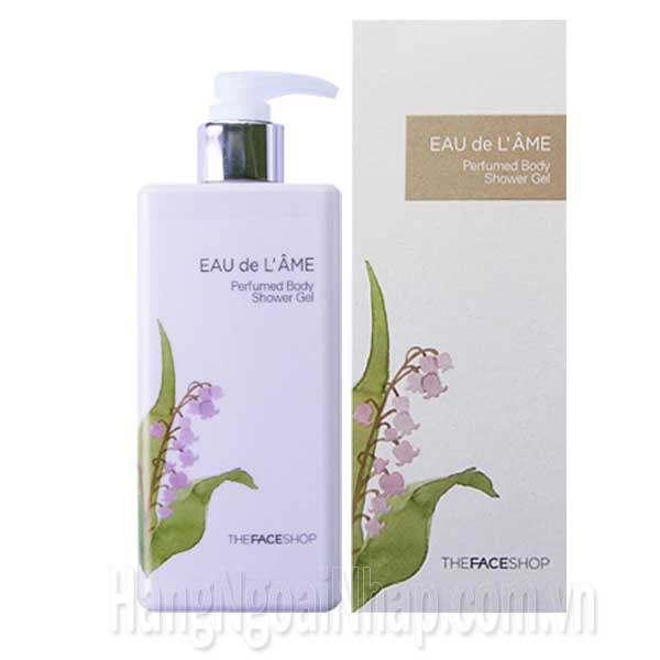 Sữa Tắm Nước Hoa Eau De L'ame The FaceShop 230ml Hàn Quốc