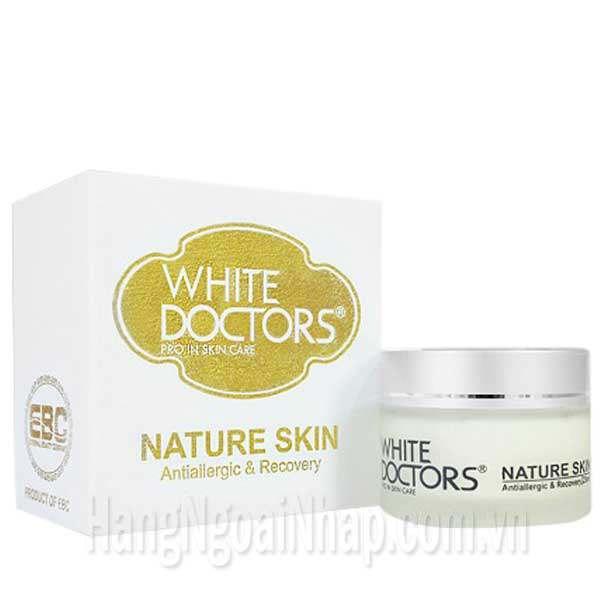 Kem Chống Dị Ứng, Kích Ứng Da White Doctors - Nature Skin