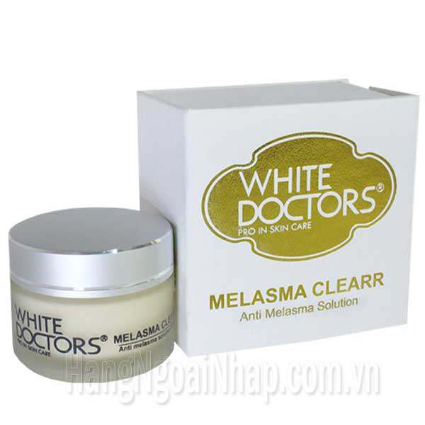 Kem Trị Nám Thể Nhẹ White Doctors Melasma Clear