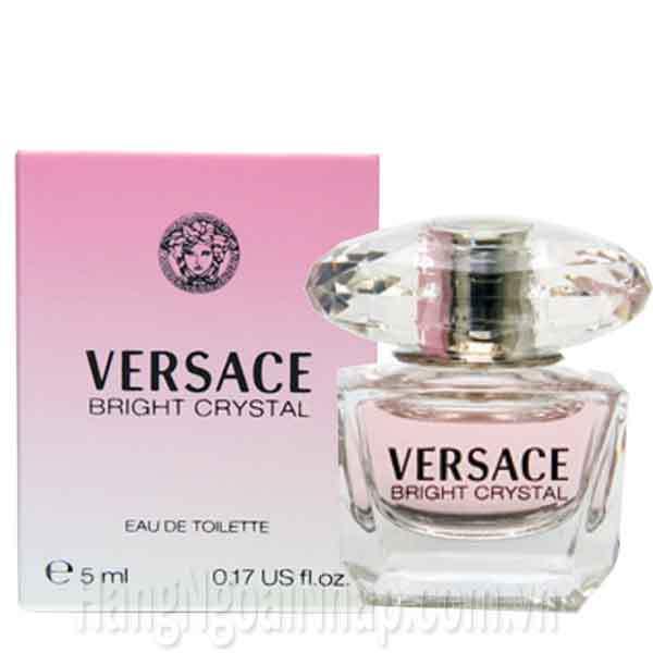 Nước Hoa Dành Cho Nữ Versace Bright Crystal 5ml Của Ý