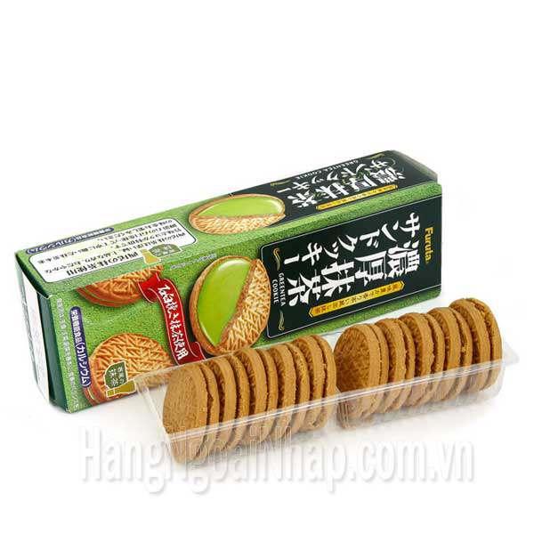 Bánh Quy Kem Trà Xanh Furuta 10,3g Của Nhật Bản