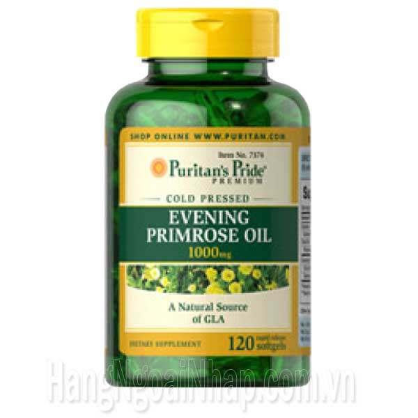 Tinh Dầu Hoa Anh Thảo Evening Primrose Oil 1000mg 120 Viên