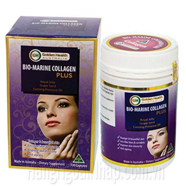Viên Uống Bio Marine Collagen Plus Golden Health Của Úc