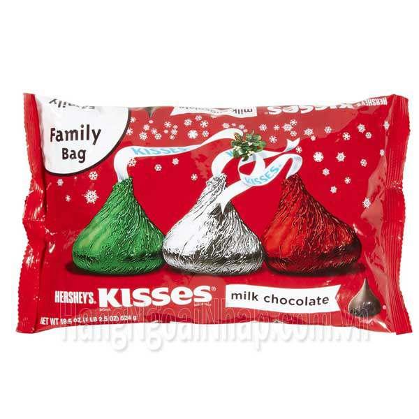 Kẹo Chocolate Sữa Hersheys Kisses 48 Viên Của Mỹ