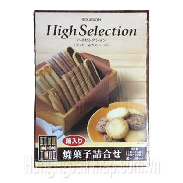 Hộp Bánh Quy Bourbon High Selection Của Nhật