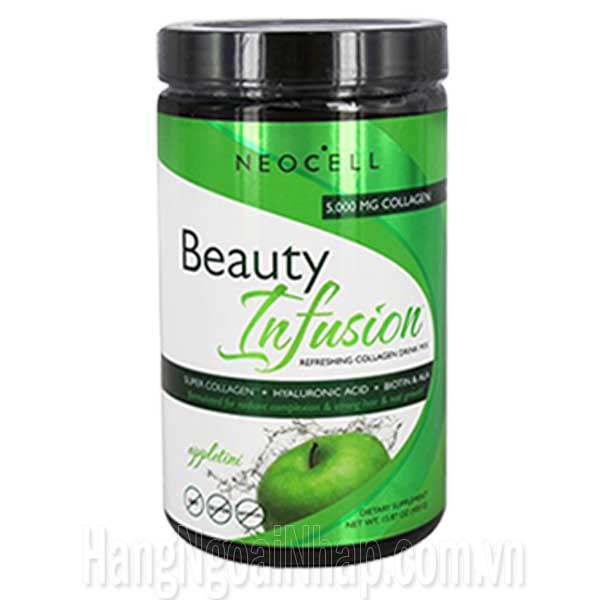 NeoCell Collagen Beauty Infusion Hương Táo 5000mg