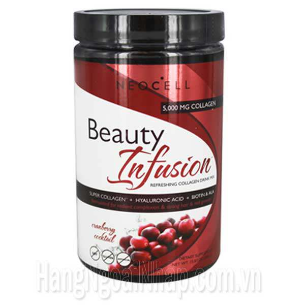 Neocell Collagen Beauty Infusion Cranberry Cocktail 5000mg