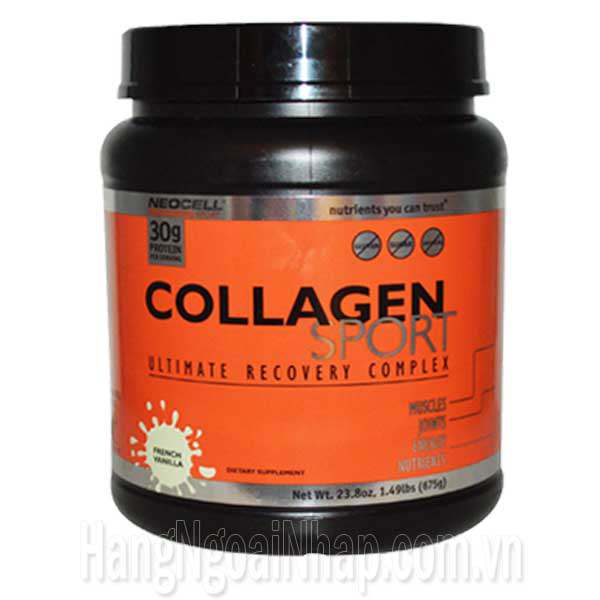 Neocell Collagen Sport Vanilla Hộp 675g Của Mỹ