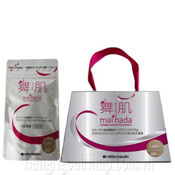 Maihada Collagen Peptide Của Nhật Bản - Gói 180 Viên