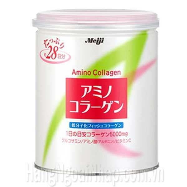Meiji Amino Collagen Dạng Bột 5000mg Của Nhật