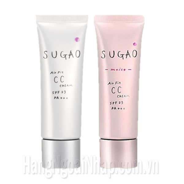 Kem Nền Trang Điểm Sugao Air Fit CC Cream SPF 23 PA+++ Của Nhật