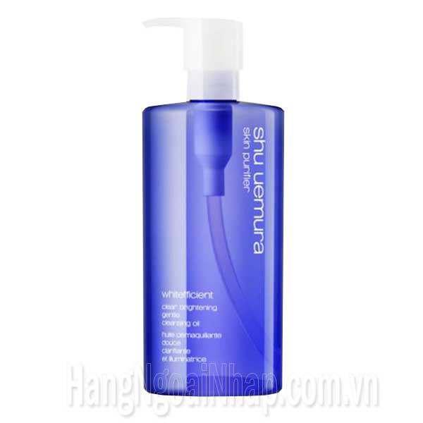 Bộ Dầu Rửa Mặt Tẩy Trang Shu Uemura Skin Purifier 100ml