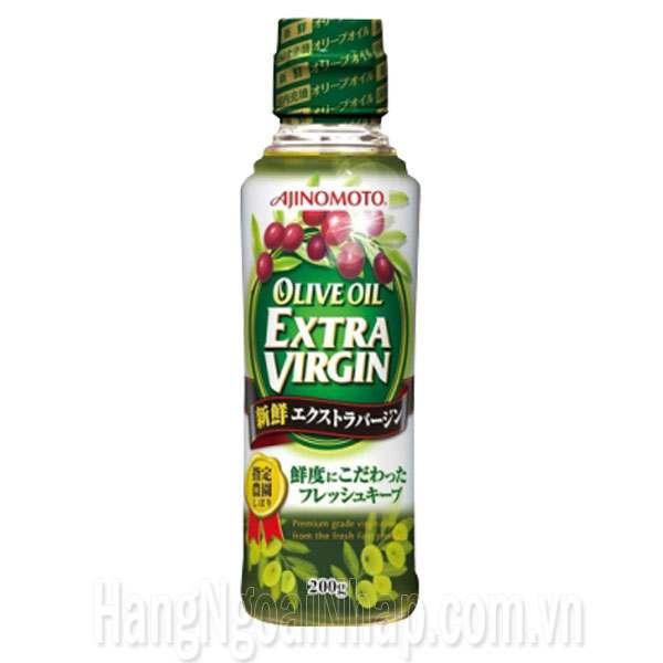 Dầu Ăn Ajinomoto Olive Oil Extra Virgin 200ml Của Nhật