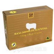 Nhau Thai Cừu Maxi Placenta 50000mg 100 Viên Của Úc