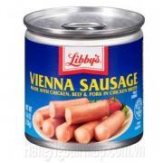 Xúc Xích Libbys Vienna Sausage 130g Của Mỹ