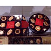 Bánh Quy Nhân Kem Kết Hợp Chocola Futana Của Nhật