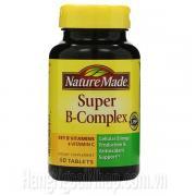 Nature Made Super B Complex Hộp 60 Viên Của Mỹ