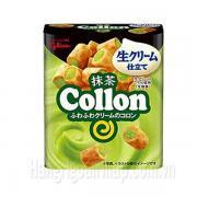 Bánh Glico Collon Nhân Trà Xanh Hộp 56g Của Nhật