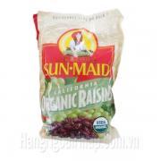 Nho Mỹ Sấy Khô Sun Maid Organic Raisins 1.6kg Của Mỹ