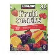 Kẹo Dẻo Trái Cây Kirkland Fruit Snacks 80 Gói Nhỏ