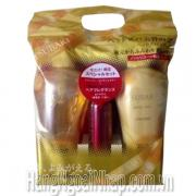 Dầu Gội Bộ 3 Shiseido Tsubaki Màu Vàng Của Nhật