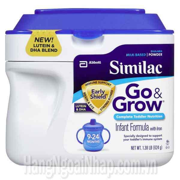 Sữa Bột Similac Go Grow Cho Bé Từ 9-24 Tháng Tuổi