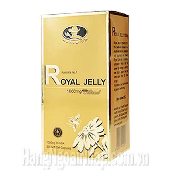 Sữa Ong Chúa Royal Jelly Auhealth 1000mg