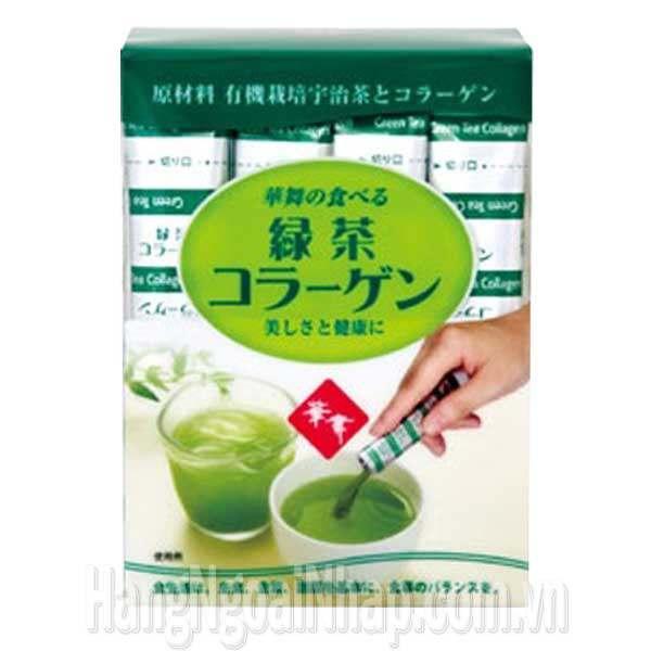 Tea Hanamai Collagen Tinh Chất Trà Xanh Từ Nhật