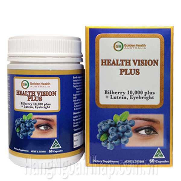 Thuốc Bổ Mắt Golden Health Health Vision Plus Bilberry