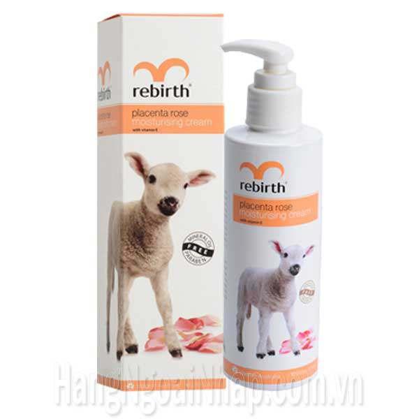 Sữa Dưỡng Thể Trắng Da Hoa Hồng Và Nhau Thai Cừu Rebirth