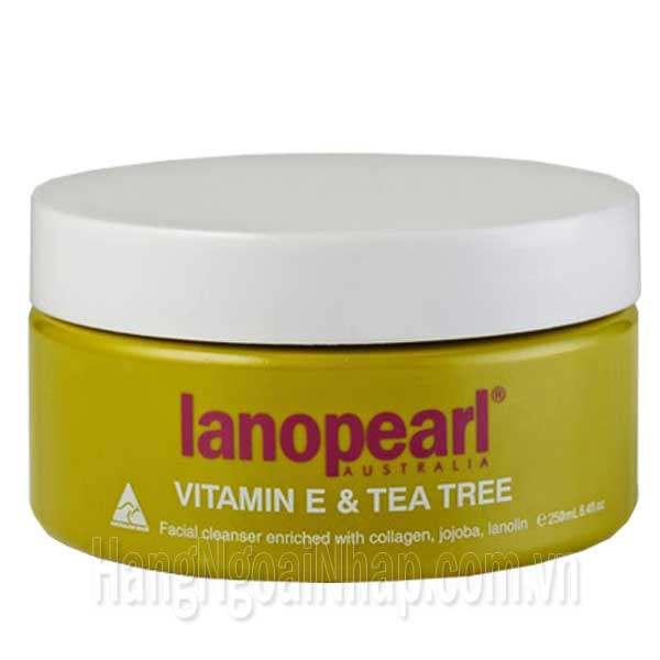 Sữa Rửa Mặt Tinh Chất Trà Xanh Và Vitamin E Lanopearl