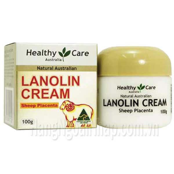 Kem Dưỡng Trắng Da Healthy Care Lanolin Cream Của Úc