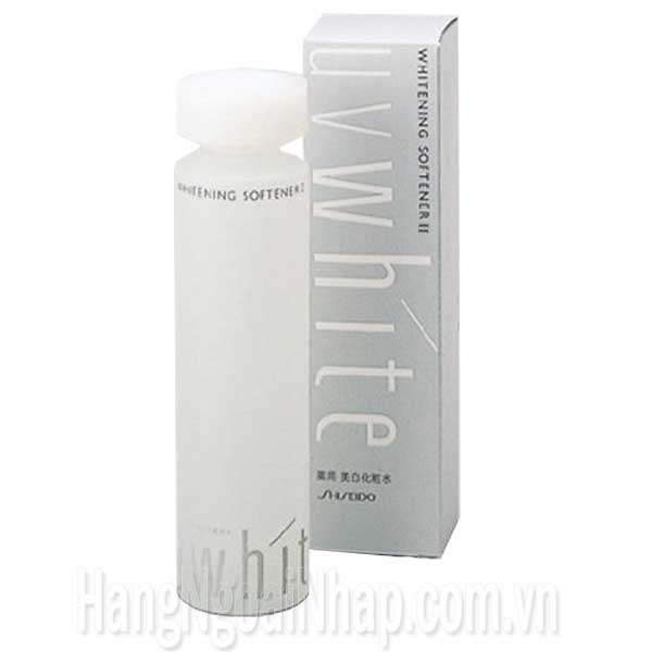 Nước Hoa Hồng Uv White Shiseido Whitening Softener 2