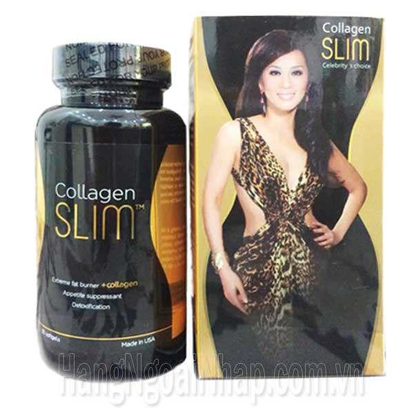 Collagen Slim Giảm Cân Đẹp Da Cùng Kỳ Duyên