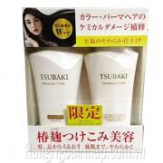 Dầu Gội Bộ 2 Shiseido Tsubaki Damage Care Màu Trắng 550ml mẫu mới